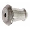 Earring Clutch Bullet Nickel
